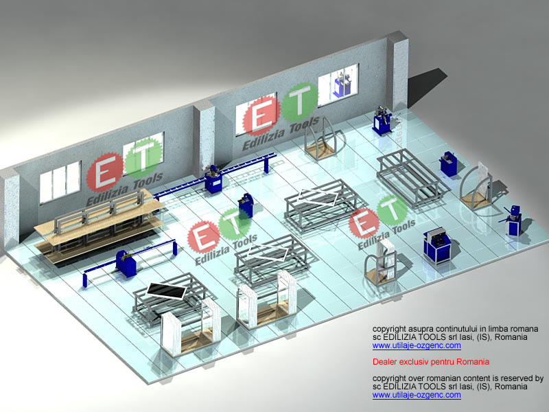 flux tehnologic pentru atelier tamplarie pvc