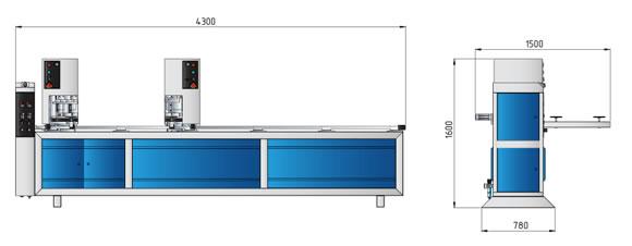 fisa tehnica masina de sudat la un cap marca Ozgenc model OMRM 112 -1